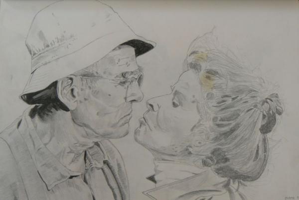 Jane Fonda, Henry Fonda por johnsy